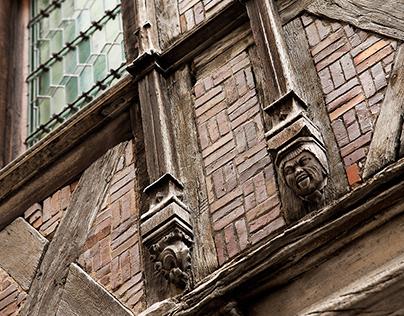Reportage photo, centre médiéval de Dijon
