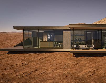 Desert house concept