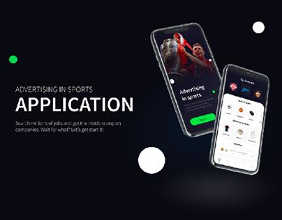 UX/UI | Sports marketplace | Mobile app