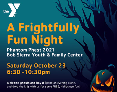 YMCA Phantom Phest Flyer