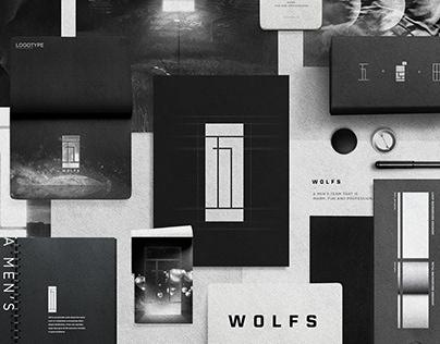 WOLFS Branding Visual Identity