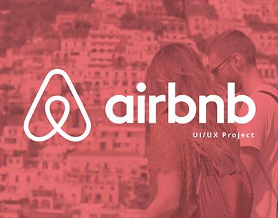 Protótipo UI/UX Airbnb