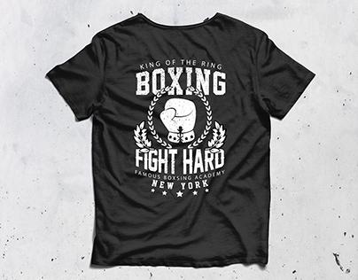 BoxingCustom T-shirt Designs.