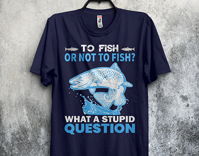 Fishing T-Shirt Design - 2