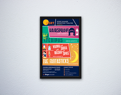 Hope Summer Repertory Theatre Poster