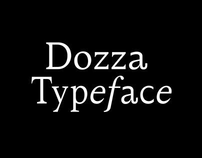 Dozza Typeface