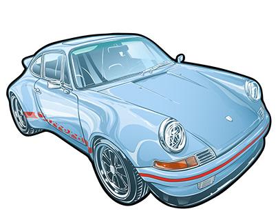 HOMA RS Porsche 911 restomod