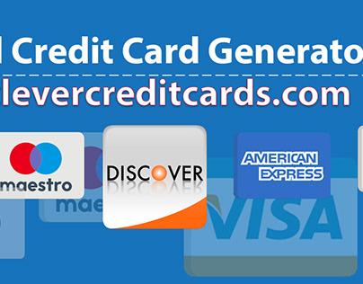 Valid Credit Card Generator Project