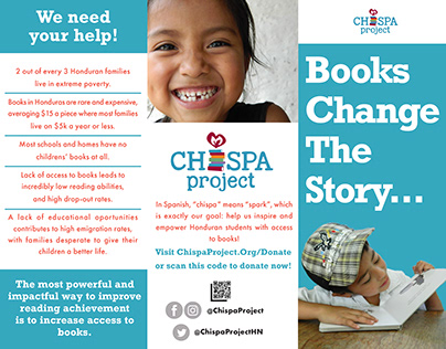 Chispa Project - Non-Profit Brochure Volunteer Project