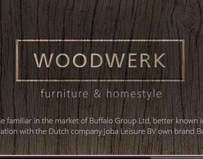 Woodwerk - eCommerce website