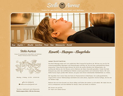 Wordpress Theme - stella-aureus.de