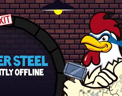 XRoosterSteelX Twitch Brand Channel