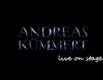 Andreas Kümmert: live on stage