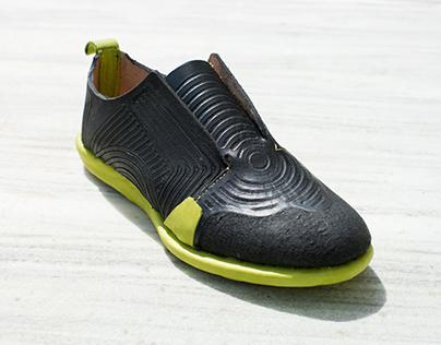 CNC-Milled Leather Sneaker 2.0