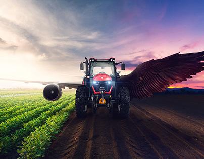 Basak Tractor Key Visual & Poster Design