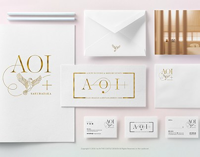 AOI+ - acupuncture and moxibustion- Branding