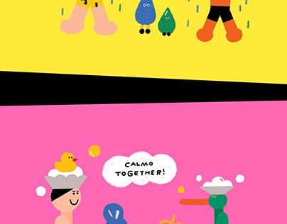 Illustration for Calmomentree