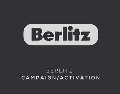 BERLITZ CAMPAIGN//ACTIVATION