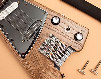 Alvear Guitars - Branding identity for guitar luthier