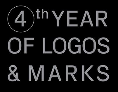 4th year of logos & marks