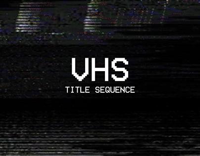 VHS Closing Credits