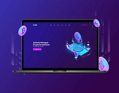 Ficas - Crypto - Website - Redesign