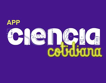 App Ciencia Cotidiana - UX-UI Project