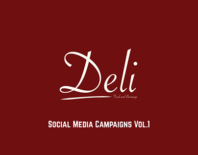 Deli Takeaway Social Media Campaigns Vol.1