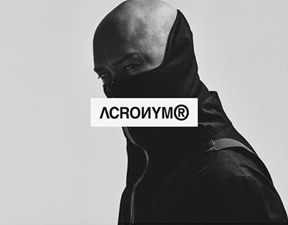 ACRONYM — E-commerce Redesign