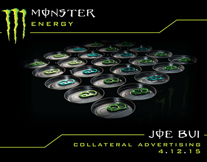 Monster Brand Identity Project