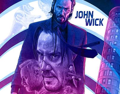 John Wick alternative movie poster