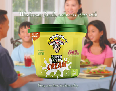 Warheads Super Sour Cream