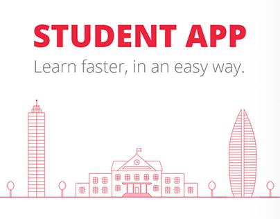 Mobile app for modern student