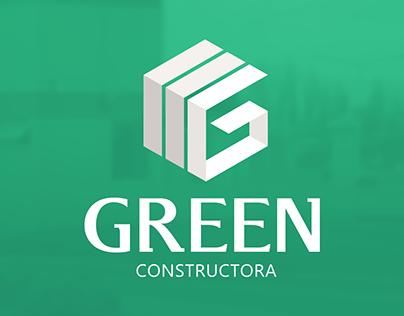 """Green Constructora"" Branding"