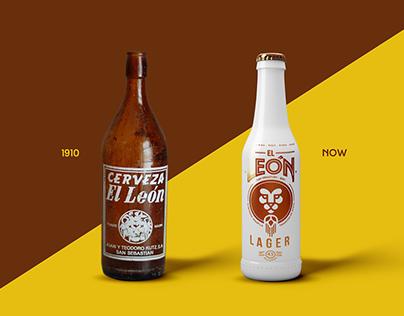 "Rebrand ""El León Beer"""