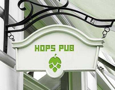 Hops Pub   Branding