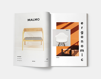 Furniture Magazine Design