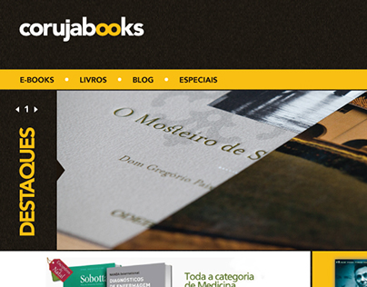 Webdesign - Coruja Books