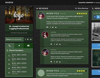Wudos Business Review Platform