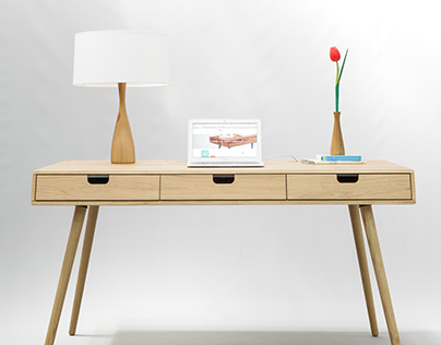 Tantik oak Desk