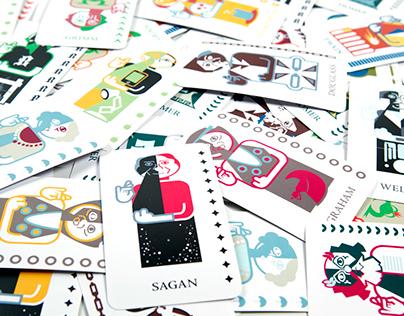 Saints of Storytelling Tarot Cards