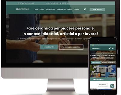 E-commerce Comefareceramica 🏺