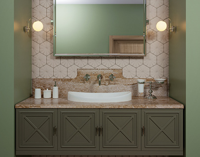3D concrete tile #7, brand ASHOME