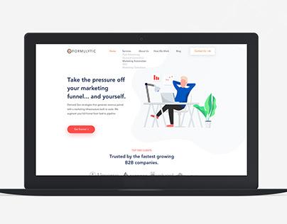 Financial Co Web Design