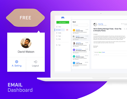 FREE - Email & Messenger Bot Dashboard