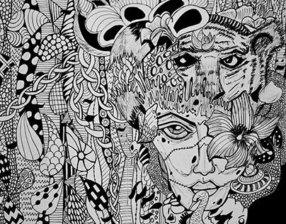 Illustrations (Monochrome)