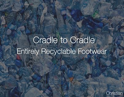 Cradle to Cradle: Entirely Recyclable Footwear