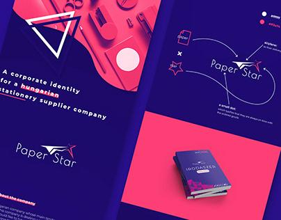Paper Star x branding