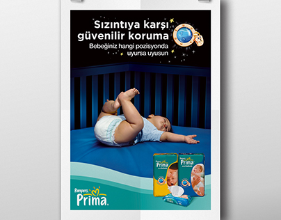 Pampers sleeping good campaign, POS