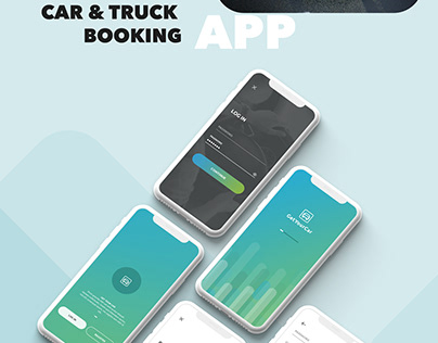 Car and Truck Booking Service UI - For Driver